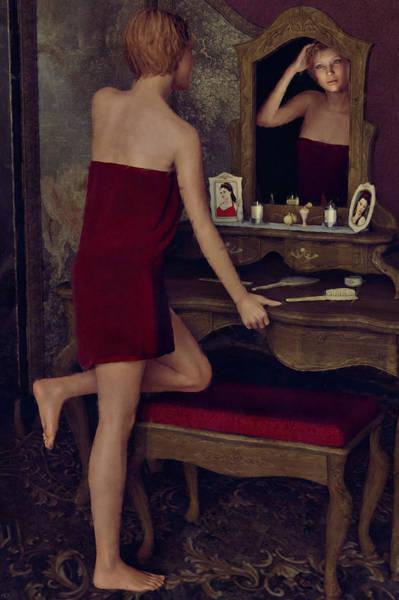 Painting - Vanity by Maynard Ellis