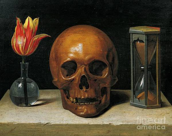 Skulls Wall Art - Painting - Vanity by Philippe de Champaigne
