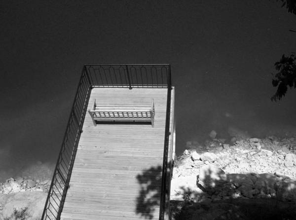 Above And Below Wall Art - Photograph - Vantage Point Bw by Elizabeth Sullivan
