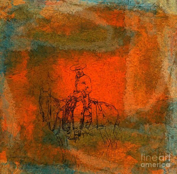 Horsemanship Painting - Vaquero by R Kyllo