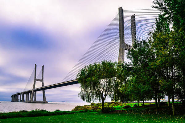 Vasco Da Gama Bridge Wall Art - Photograph - Vasco Da Gama Bridge I by Alexandre Martins