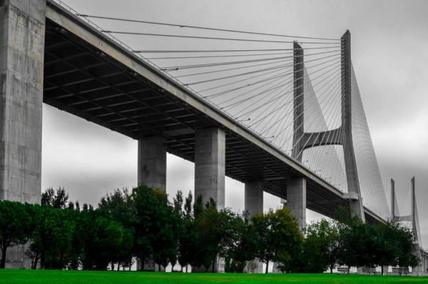 Vasco Da Gama Bridge Wall Art - Photograph - Vasco Da Gama Bridge II by Alexandre Martins