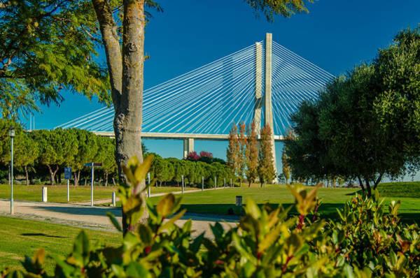 Vasco Da Gama Bridge Wall Art - Photograph - Vasco Da Gama Bridge IIi by Alexandre Martins