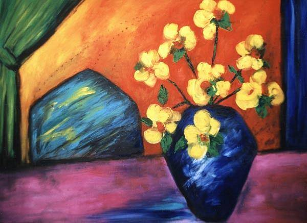 Painting - Vase by Lynn Buettner