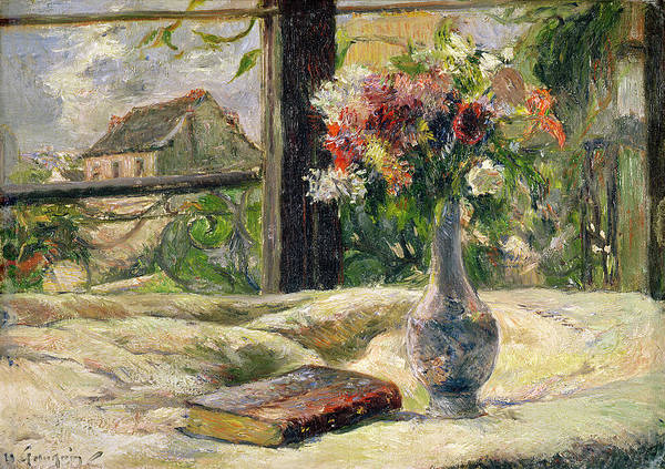Painting - Vase Of Flowers by Paul Gauguin
