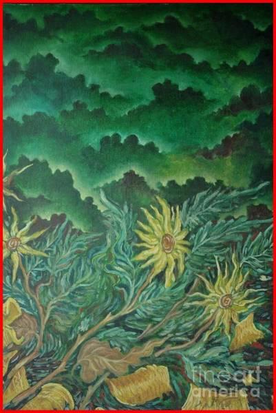 Kannan Painting - Vase by Sooraj Kannan
