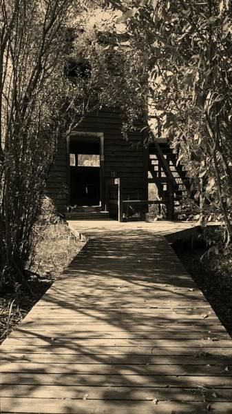 Photograph - Vaseux Lake Bird Sanctuary Lookout by Guy Hoffman