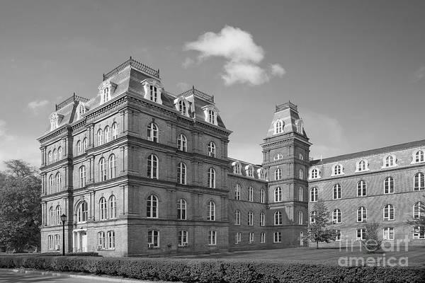 Photograph - Vassar College Main Building by University Icons