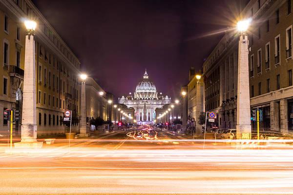 Konica Wall Art - Photograph - Vatican City Rome Italy by Giuseppe Milo