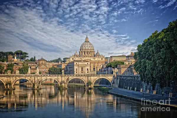 Digital Art - Vatican Dome 3c by Mauro Celotti