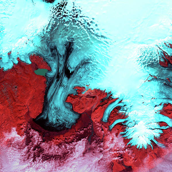 Wall Art - Photograph - Vatnajokull Glacier by Nasa/science Photo Library