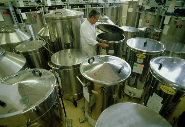 Perfume Photograph - Vats Used In Perfume Manufacture by Klaus Guldbrandsen/science Photo Library