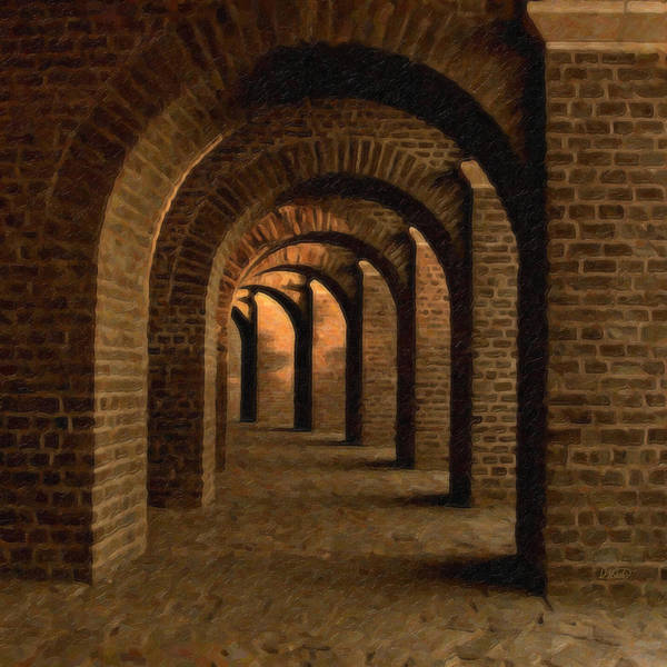 Painting - Vaulted Cellar Ger2589 by Dean Wittle