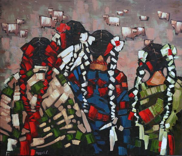 Wall Art - Painting - Vechornytsi by Anastasija Kraineva