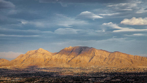 Photograph - Vegas Mountains by Ross Henton