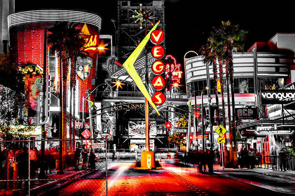 Walkway Wall Art - Photograph - Vegas Nights by Az Jackson