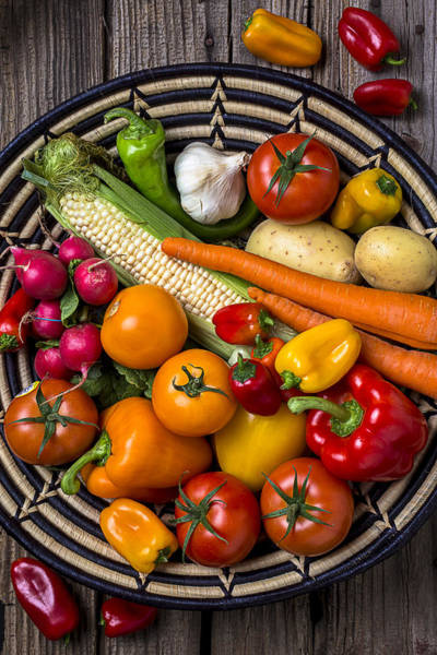 Bell Photograph - Vegetable Basket    by Garry Gay