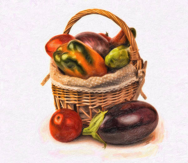 Painting - Vegetable2199 by Dean Wittle