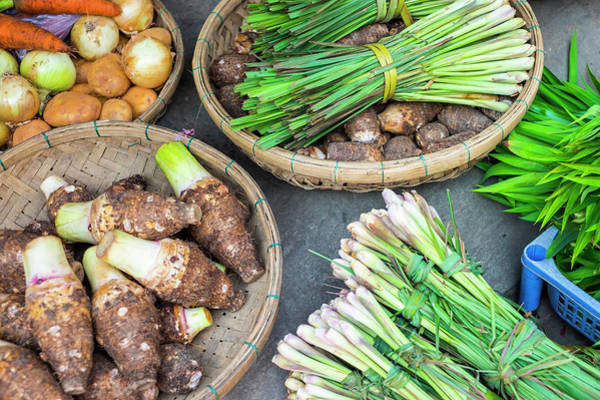 Quang Nam Province Photograph - Vegetables For Sale At Hoi An Market by Jason Langley