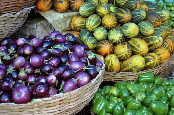 Karnataka Photograph - Vegetables by Victoria Lea Bergesen