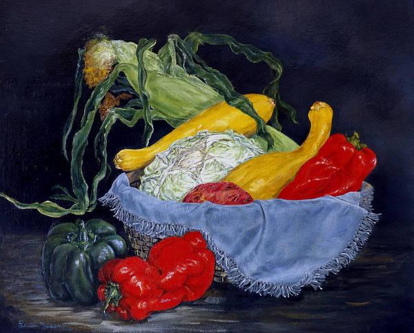 Painting - Veggies by Linda Becker
