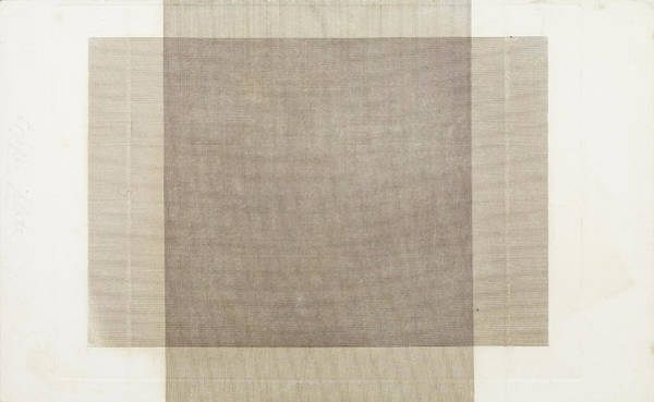 Angle Drawing - Veil Engine Ruled Lines, Crossed At Right Angles William by Litz Collection