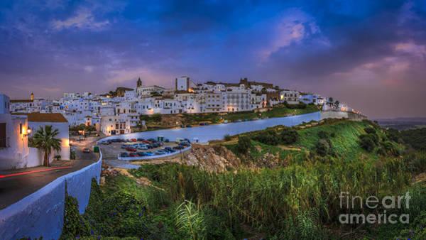 Photograph - Vejer De La Frontera Panorama Cadiz Spain by Pablo Avanzini