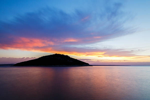 Losinj Photograph - Veli Osir Island At Sunrise by Ian Middleton