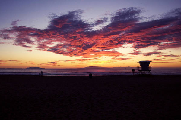 Ventura Photograph - Velvet Clouds by Mitch Boyce