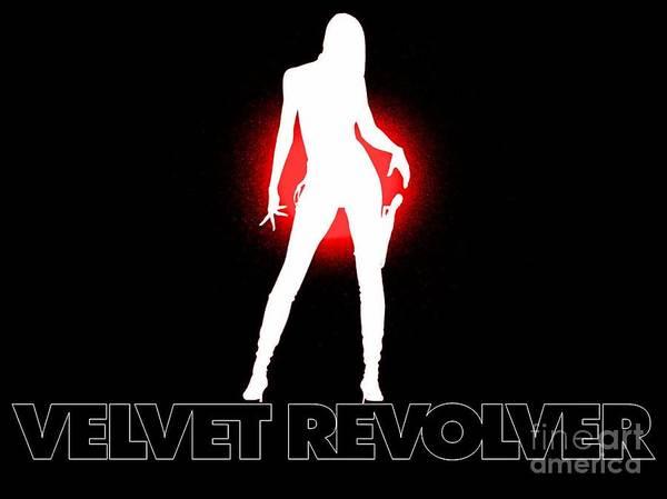 Velvet Revolver Wall Art - Painting - Velvet Revolver by Baltzgar