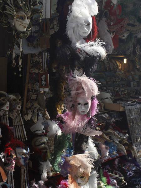 Photograph - Venetian Masks by Karen Zuk Rosenblatt
