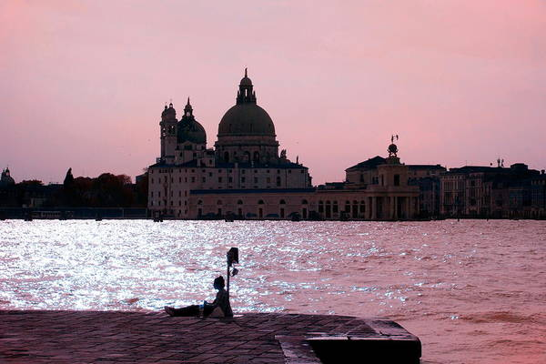 Wall Art - Photograph - Venetian Red Romance by Valentino Visentini