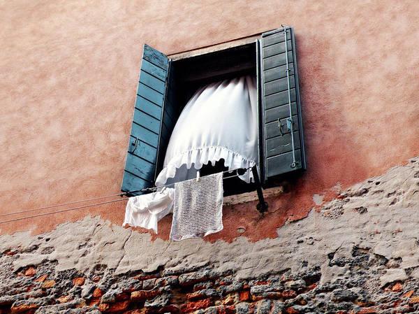 Photograph - Venetian Shutters by Micki Findlay