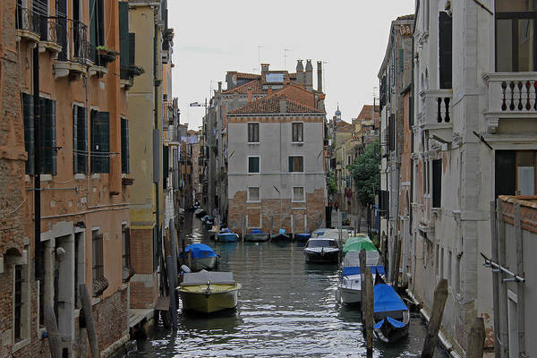 Photograph - Venetian Side Street by Tony Murtagh