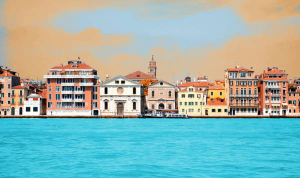 Wall Art - Photograph - Venetian Supercolors by Valentino Visentini