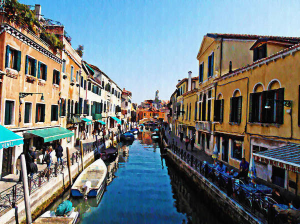 Photograph - Venetian View by Bill Cannon
