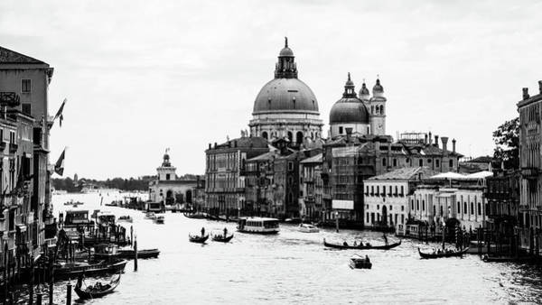 Church Photograph - Venezia Grand Canal by Bighignoli Michele