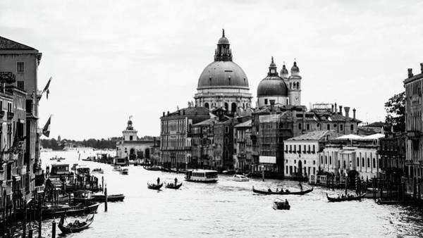 Photograph - Venezia Grand Canal by Bighignoli Michele