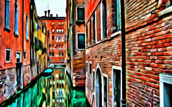 Painting - Venezia Mi Amor by Florian Rodarte