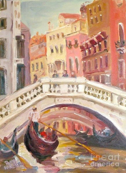 Painting - Venice Is For Lovers by Patsy Walton