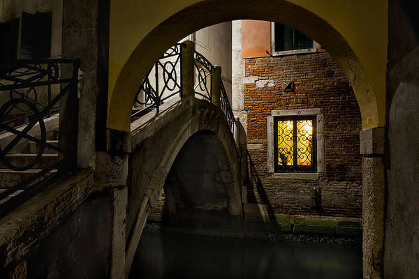 After Dark Photograph - Venice At Night1 by Marion Galt
