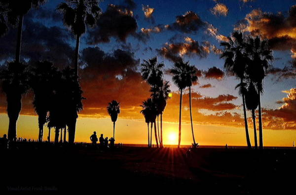 Digital Art - Venice Beach  by Visual Artist Frank Bonilla