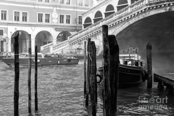 Wall Art - Photograph - Venice Boats In The Morning by John Rizzuto