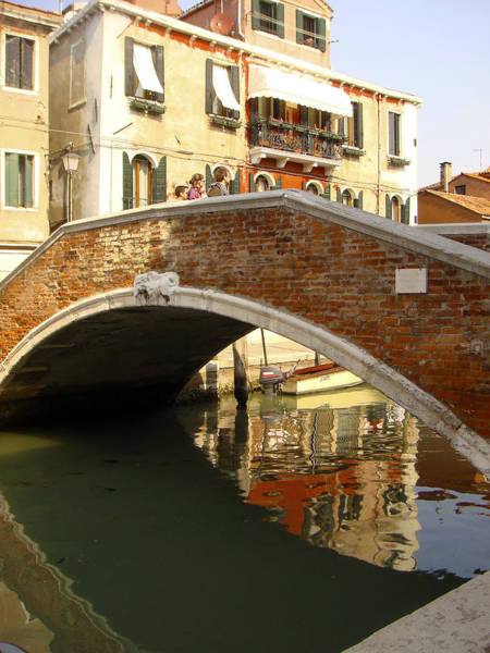 Photograph - Venice Bridge by Karen Zuk Rosenblatt