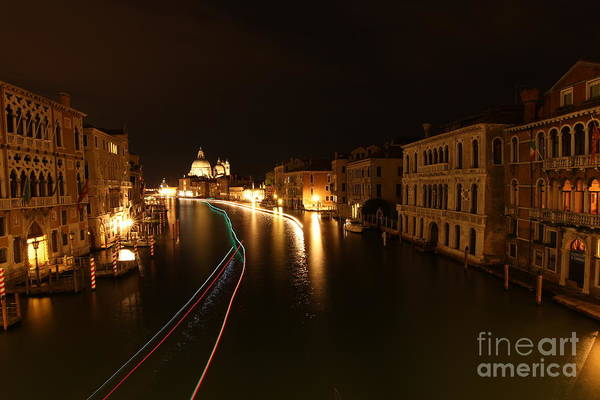 Photograph - Venice By Night by Fabrizio Malisan