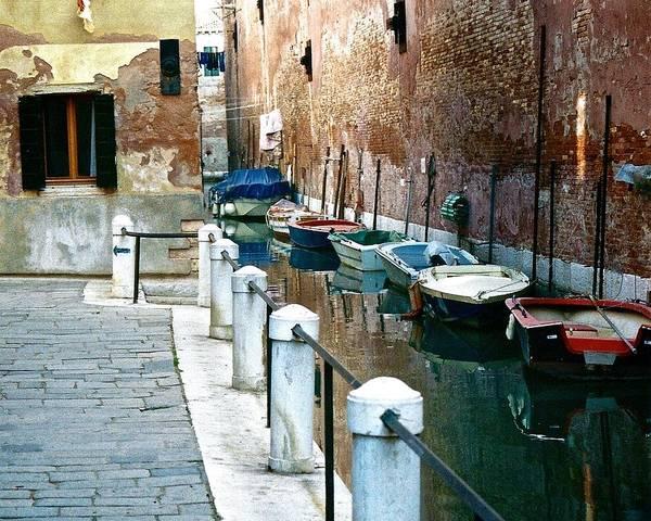Photograph - Venice Canal 2 by Ricardo J Ruiz de Porras