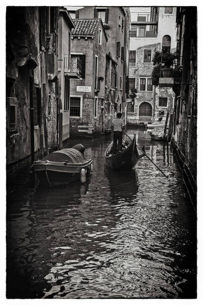 Wall Art - Photograph - Venice Canal Memory by Madeline Ellis