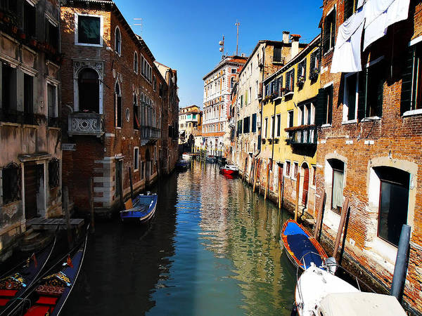 Photograph - Venice Canal by Bill Cannon