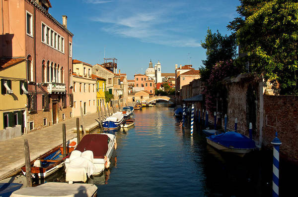 Photograph - Venice Canal by Stephen Taylor