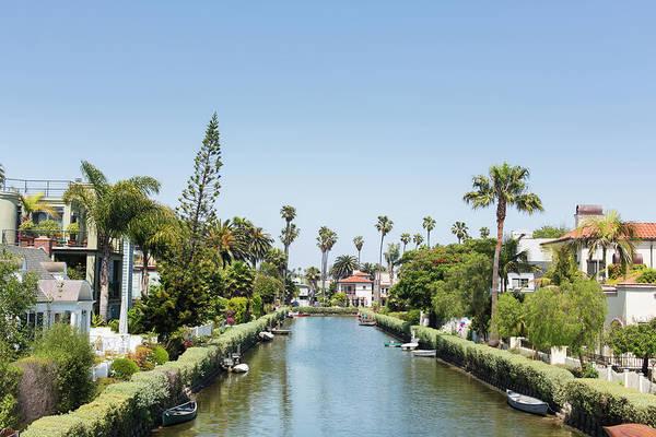 Suburbs Photograph - Venice Canals by David Freund